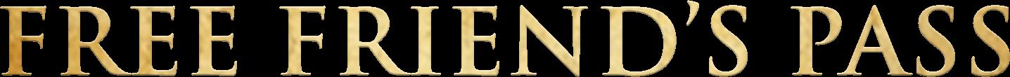Free Friend's Pass logo