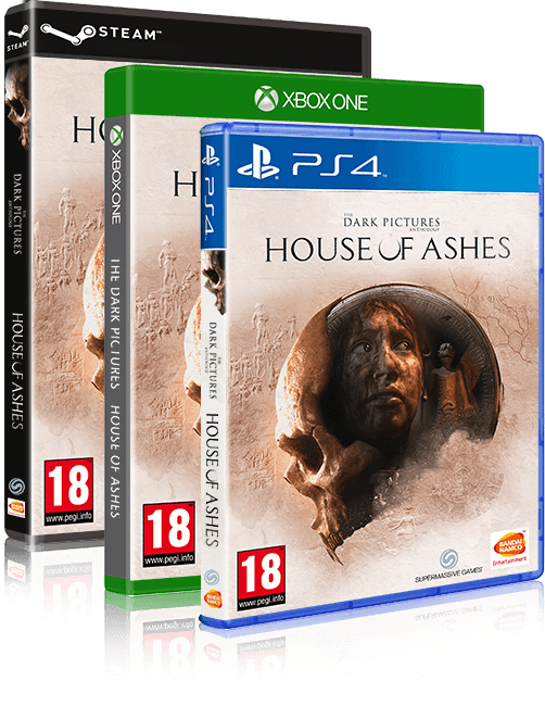 The Dark Pictures - House of Ashes box art